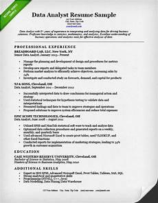 data analyst skills resume printable planner template