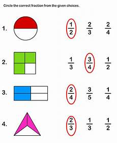 fraction worksheets and printables printable math worksheets for kids