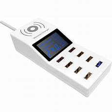 Bakeey Charge Dock With Charger Cable by Bakeey 2 In 1 Wireless Charger 8 Usb Charger 8 Ports