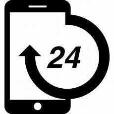 eps service client smartphone 24 hours service free tools and utensils icons