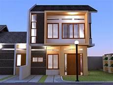 Contoh Desain Kreatif Rumah Minimalis 2 Lantai Sederhana