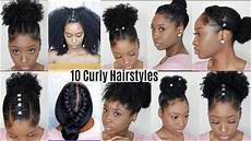quick hairstyles for naturally curly hair 10 quick easy hairstyles for natural curly hair