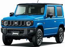 All New 2019 Suzuki Jimny Brisk Blue