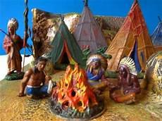 Ausmalbild Indianer Am Lagerfeuer Ddr Indianer Ddr Indianerspielzeug