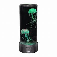 lightahead artificial fish led aquarium multi colored swimming jellyfish tank with bubbles