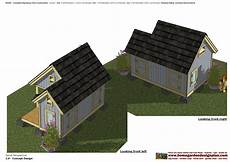 insulated dog house plans home garden plans dh300 insulated dog house plans