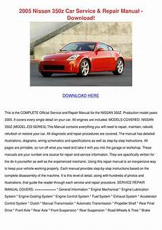 free online auto service manuals 2005 nissan 350z spare parts catalogs 2005 nissan 350z car service repair manual do by gracefincher issuu