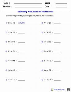 decimals worksheets math aids 7056 rounding decimals worksheet math aids algebra 1 worksheets equations worksheetsestimation