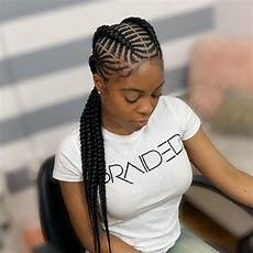 latest cornrow braid hairstyles for beautiful ladies