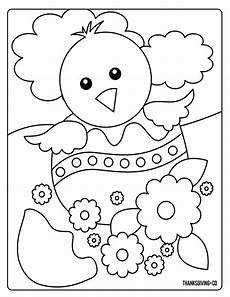 sweet and sunny spring easter coloring pages