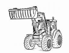 tractor coloring pages kidsuki