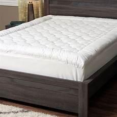 pillow top mattress topper queen size pad hypoallergenic