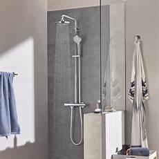 grohe doccia colonna doccia grohe con miscelatore termostatico esterno