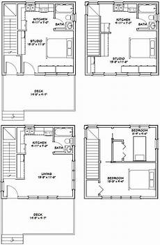 20x20 house plans 20x20 houses pdf floor plans 683 sq ft от