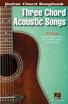 Three Chord Acoustic Songs Sheet By Various Sheet