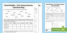 first measurements in weight worksheet worksheet learning from home maths