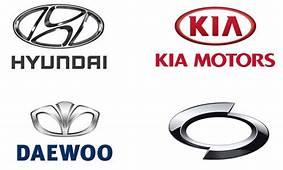 Korean Car Brands Names  List And Logos Of Cars