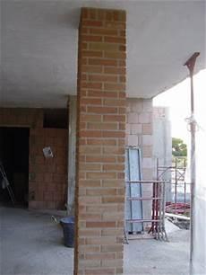 rivestimenti pilastri interni muratura carpenteria edilizia rivestimento in mattone di