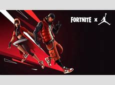 Fortnite X Jordan Skin New Outfit #4741 Wallpapers and