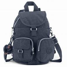 kipling firefly backpack canvas bag charles clinkard