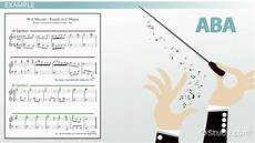 ternary form in music definition exles video lesson transcript study com