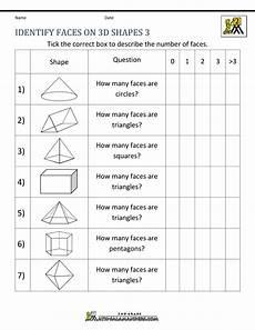 shapes worksheets second grade 1262 3d shapes worksheets 2nd grade