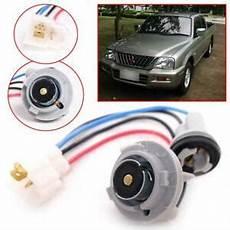 front bumper indicator l wiring harness socket for mitsubishi l200 1996 2004 ebay