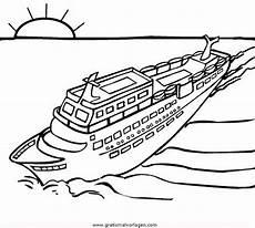 kreuzfahrtschiff 2 gratis malvorlage in schiffe