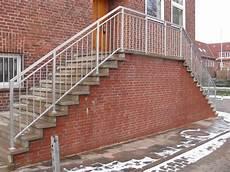 Treppengeländer Außen Verzinkt - leistungen schlosserei ebsen