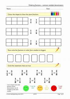 fraction worksheets y3 4177 basic fractions number ks2 maths resources maths