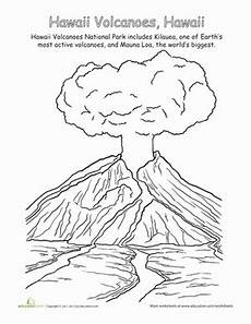 national parks hawaii volcanoes worksheet education com