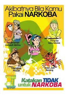Poster Narkoba Dinas Kesehatan Bireun Aceh Design