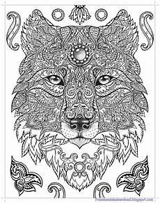 Malvorlagen Wolf Craft Malvorlage Mandala Wolf Kinder Ausmalbilder