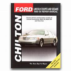 service and repair manuals 1988 lincoln continental mark vii electronic toll collection lincoln town car chilton repair manual anniversary cypress signature se rj ebay