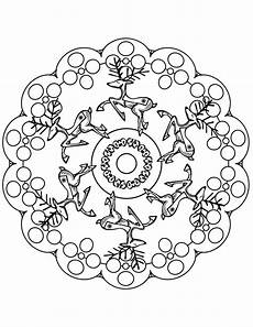 Malvorlagen Mandala Weihnachten Mandala Coloring Pages To And Print For