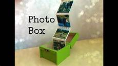 gift idea for friends or family photo box
