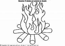 feu dessin flammes dessin