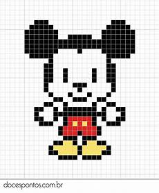mickey pixel mickey doces pontos square blanket baby mickey