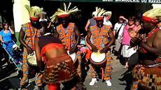 spectacle de rue musique traditionnelles africaine congo
