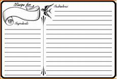 4x6 index card template free blank recipe template authorization letter pdf