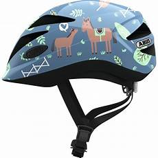 abus anuky helmet blue with horses xxcycle en