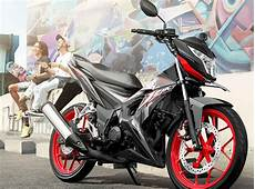 Modifikasi Honda Sonic 2018 by Hadir Dalam Warna Dan Striping Baru Honda Sonic 150r 2018