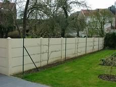 palissade jardin beton 1 6 palissade beton