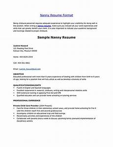 nanny resume nanny resume exles are made for those who are professional with the experience