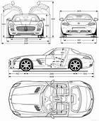 Mercedes Benz Amg Sls 2011png 2000&2152421 Blueprints