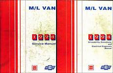 auto repair manual online 1995 gmc safari engine control 1994 chevy astro van gmc safari repair shop manual set 94 original oem service ebay