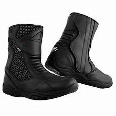 motorbike sport waterproof lined boots touring motorcycle