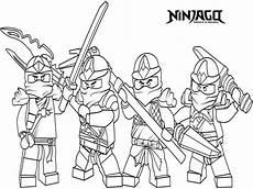 ninjago team ausmalbilder