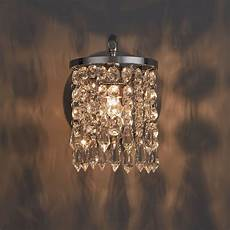 ashby faceted glass chrome effect single wall light departments diy at b q faceted
