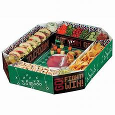 football snack stadium chip and dip basic plastic
